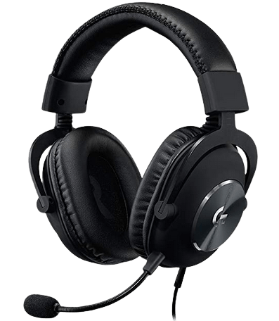 Logitech_G_PRO_X_Gaming headphones with mic for laptop